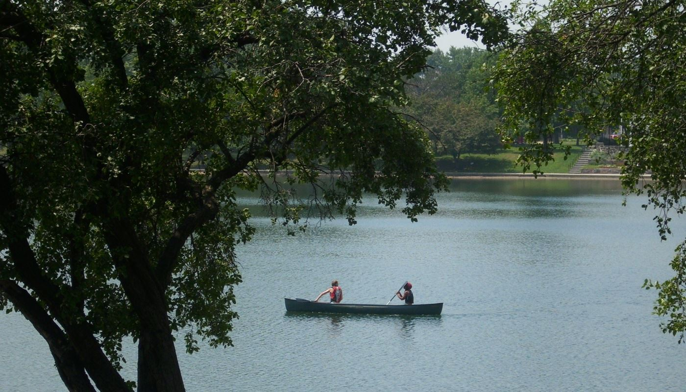 People Canoeing
