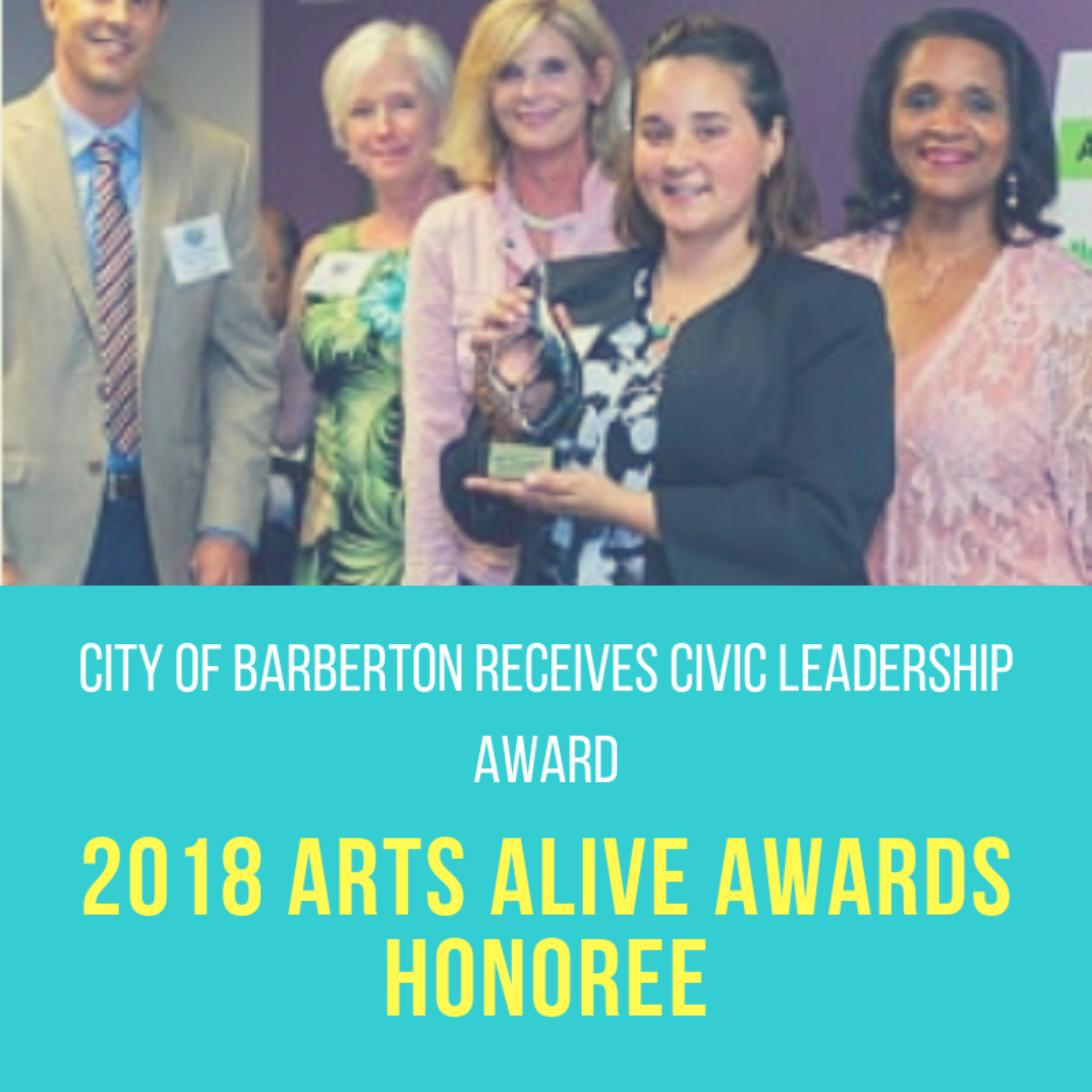 2018 ARTS ALIVE AWARDS HONOREE