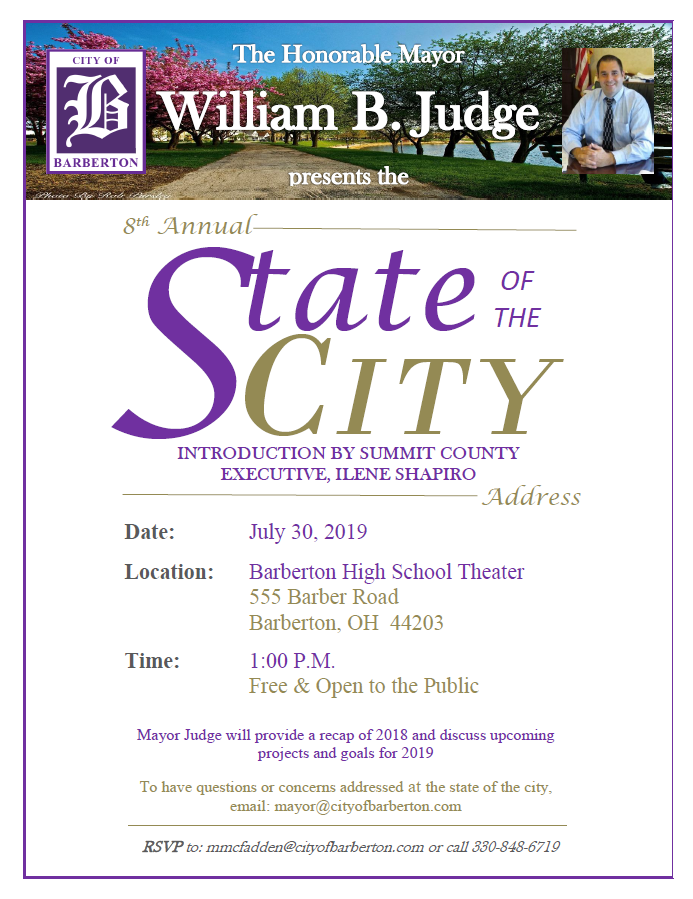 2019-07-30 State of City